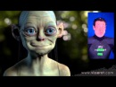 CGI Facial Mocap Re Targeting Demo HD Gollum Project by Fabrice Visserot