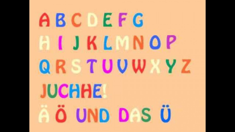 Das deutsche Alphabet-Lied (German Alphabet Song) - Learn German easily