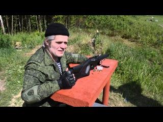 Абдулла представляет мелкашку полуавтомат МР-161к