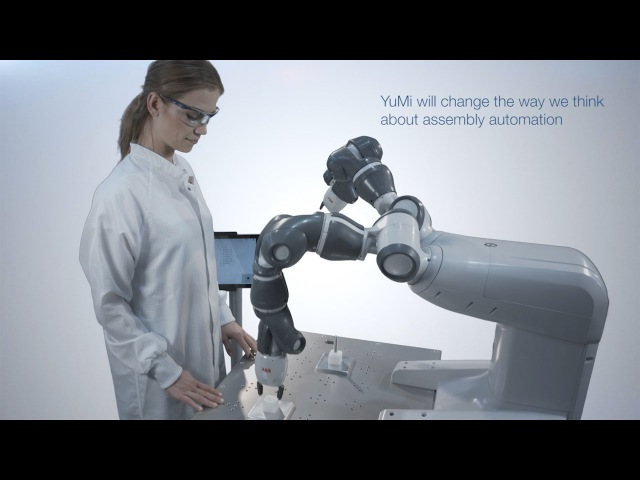 Introducing YuMi the world's first truly collaborative robot ABB Robotics
