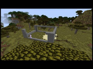 Minecraft   The noob alpexer   Alpexer building for self a stone house Part 1.