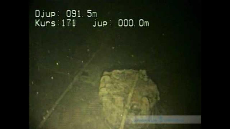 Подлодка РИФ Гепард WW1 на дне Балтийского моря