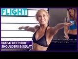 Сидни Беннер. Домашняя фулбоди тренировка с весом своего тела: силовые упражнения + йога + танцевальные элементы (без перевода)