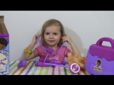 Доктор Плюшева игрушки играются набор доктора Doc McStuffins suitcase set playing toys doll