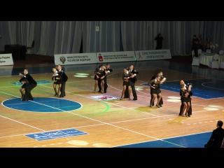 11.04.2015 Чемпионат России по спортивным бальным танцам. Команда