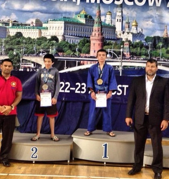 Хасан Аджаматов победитель