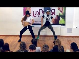 Катя Шошина и Валера Волков в паре.. Танец Booty Dance