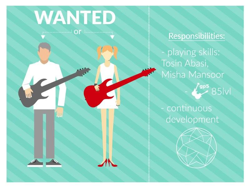 Ищем гитариста
