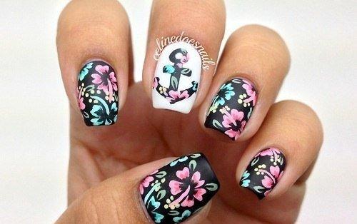 Фото рисунков на ногти лето