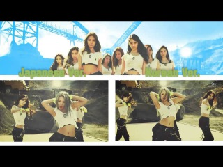 Girls' Generation - Catch Me If You Can (MV COMPARISON) Korean Ver. & Japanese Ver.