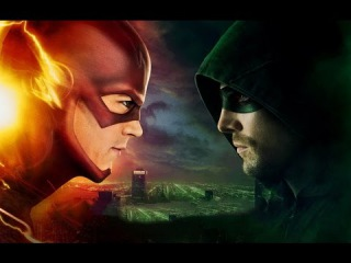 The Flash - Flash vs Arrow Trailer (Rus)