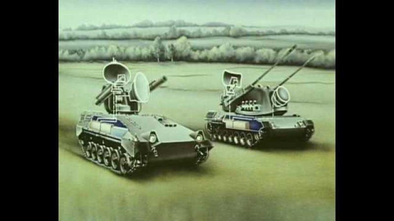 Tunguska -M1 air defence system (ЗРПК Тунгуска -М1)