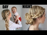 TUTORIAL  Transitional Day to Night Hair - For Valentine's Day!