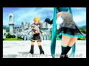 【MMD Cup 12】 Battle Arena Welcome ( Miku Vs Len SAO Style! )
