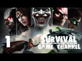 Прохождение Injustice Gods Among Us Ultimate Edition 1080p, PC  Часть 1 Вселенная