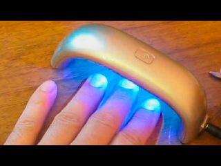 лед лампа сушка для ногтей маникюр aliexpress посылка покупка с китая