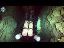 Пещера Ras Mamlakh 70 метров над головой путь вниз flyjets