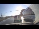 ДТП между велосипедистом и пешеходом (Сургут)