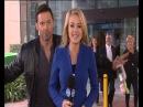 Wolverine Hugh Jackman VideoBombs Reporter on Live Tv