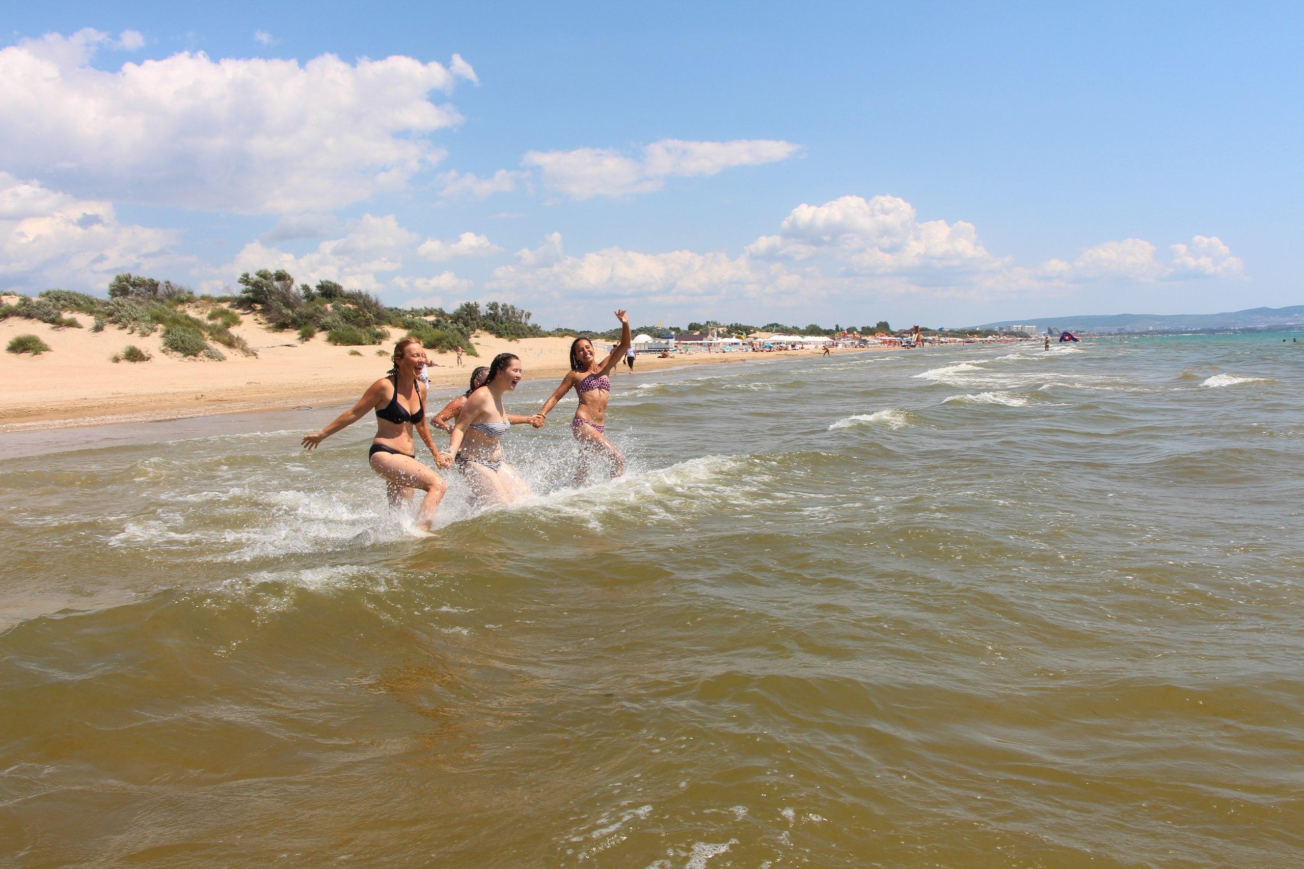 Совместные купания в море!! =) Фото 17 июля 2015 года =)