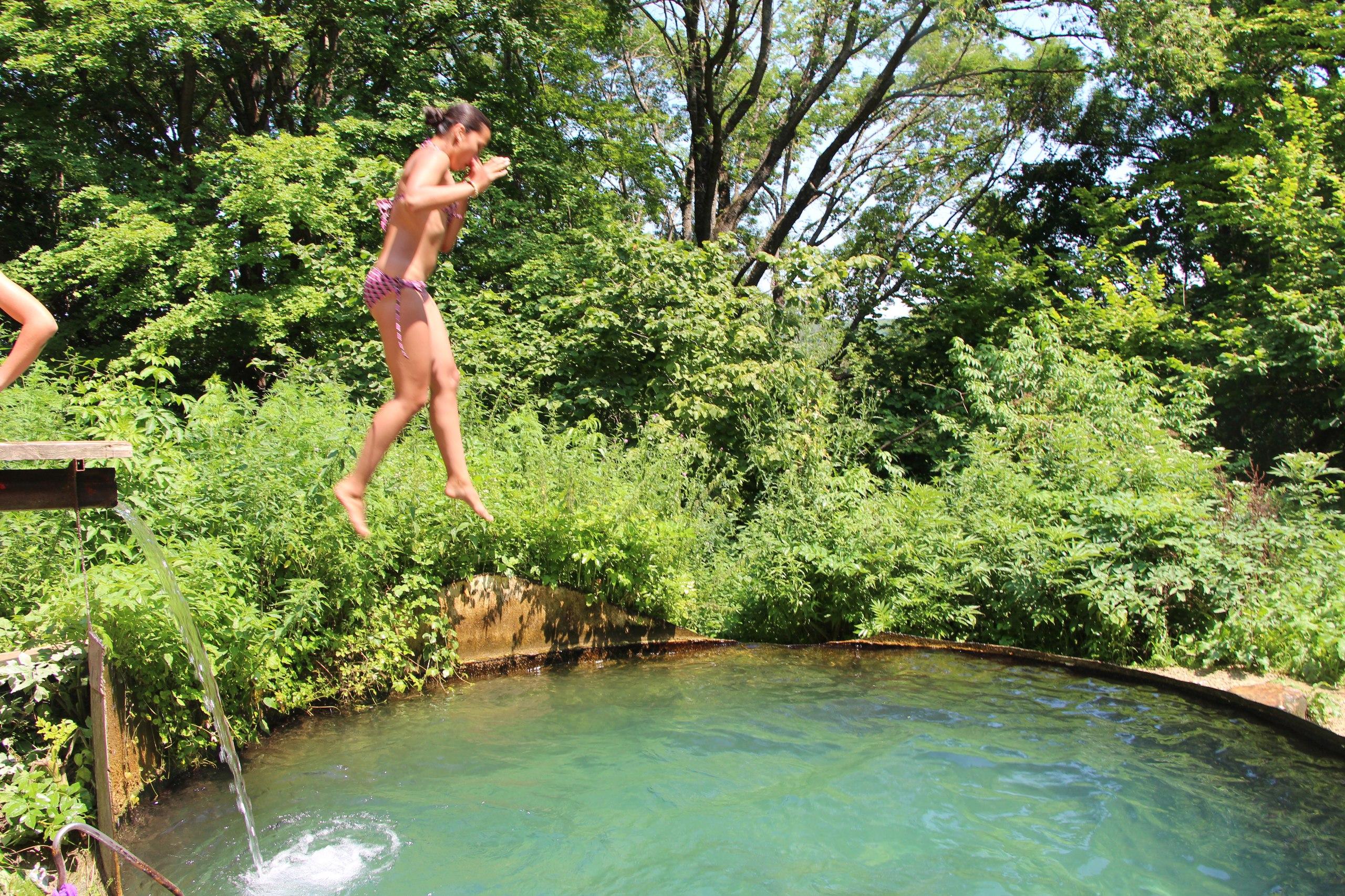 Совместные купания в Родниковой купели! =) Фото 18 июля 2015 года =)