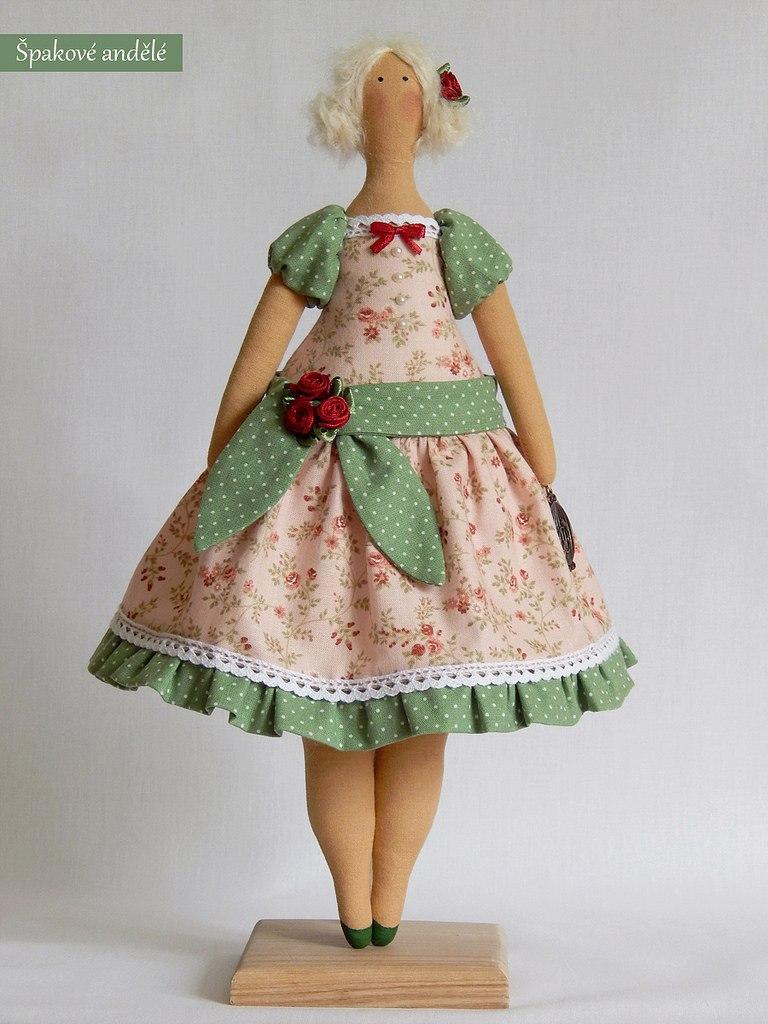 Платья для тряпичных кукол