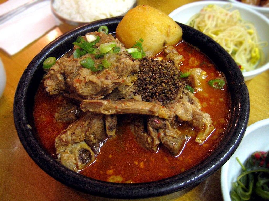 Острый корейский суп рецепт