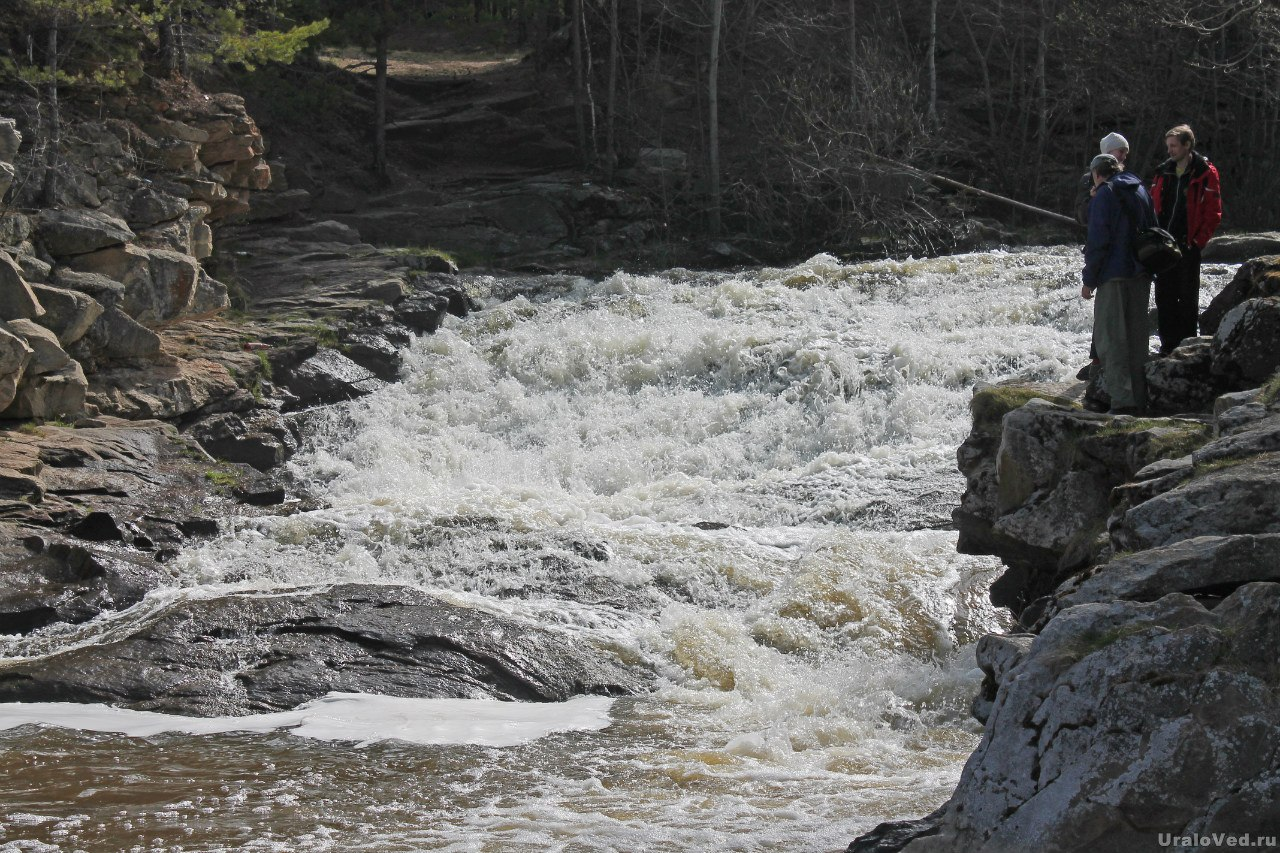Южаковский водопад