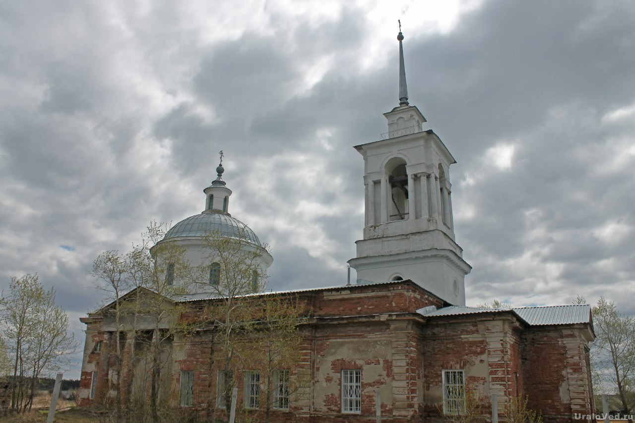 Церковь в Липовском