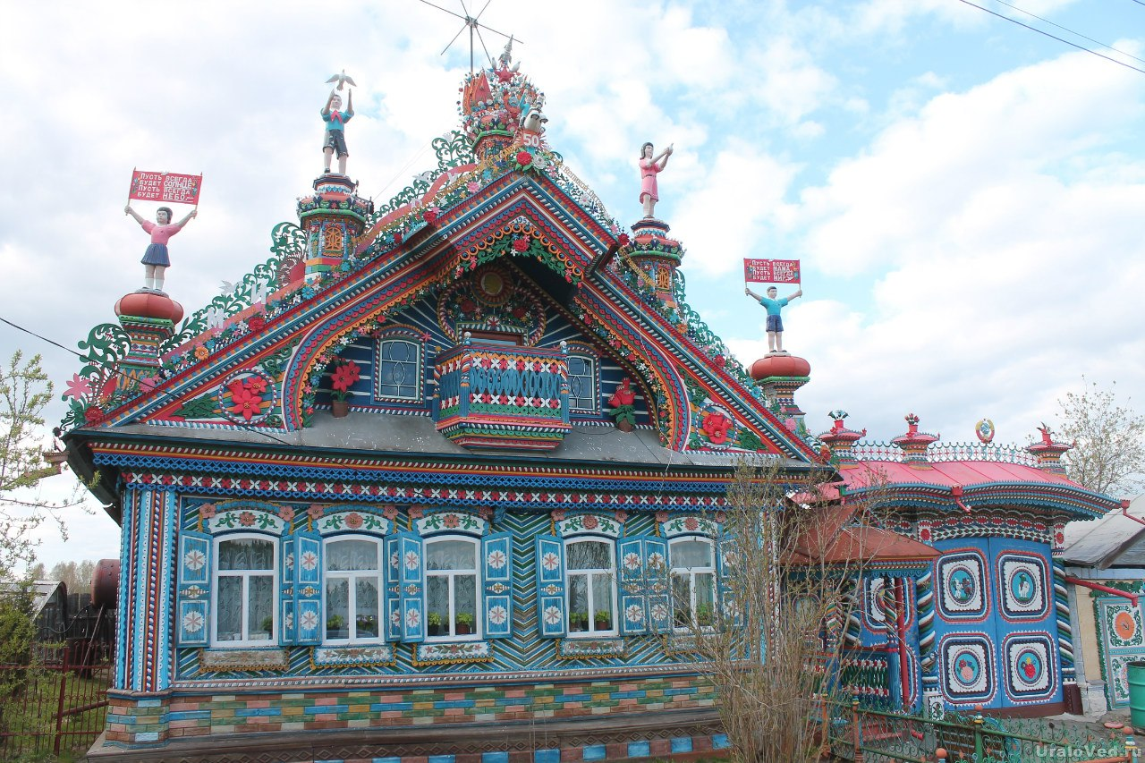 Дом кузнеца Кириллова в Кунаре