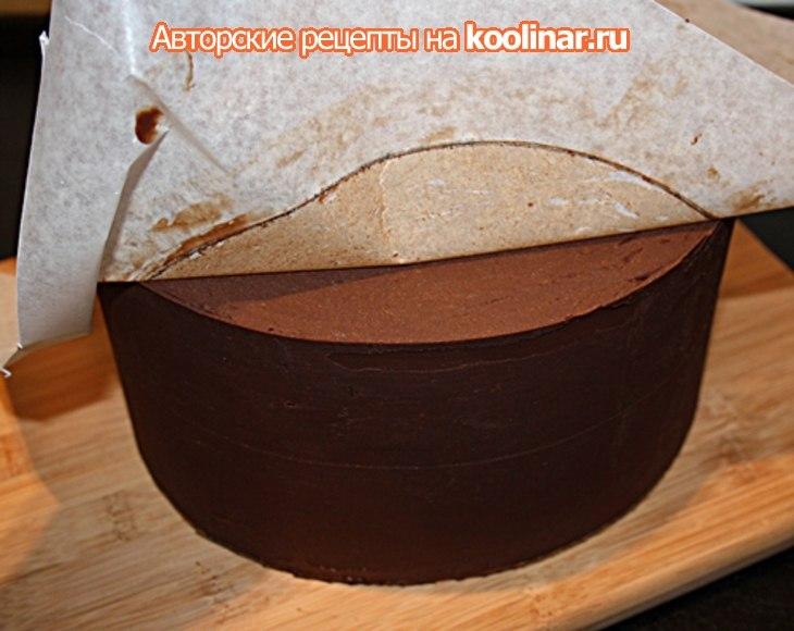 Как сделать край торта