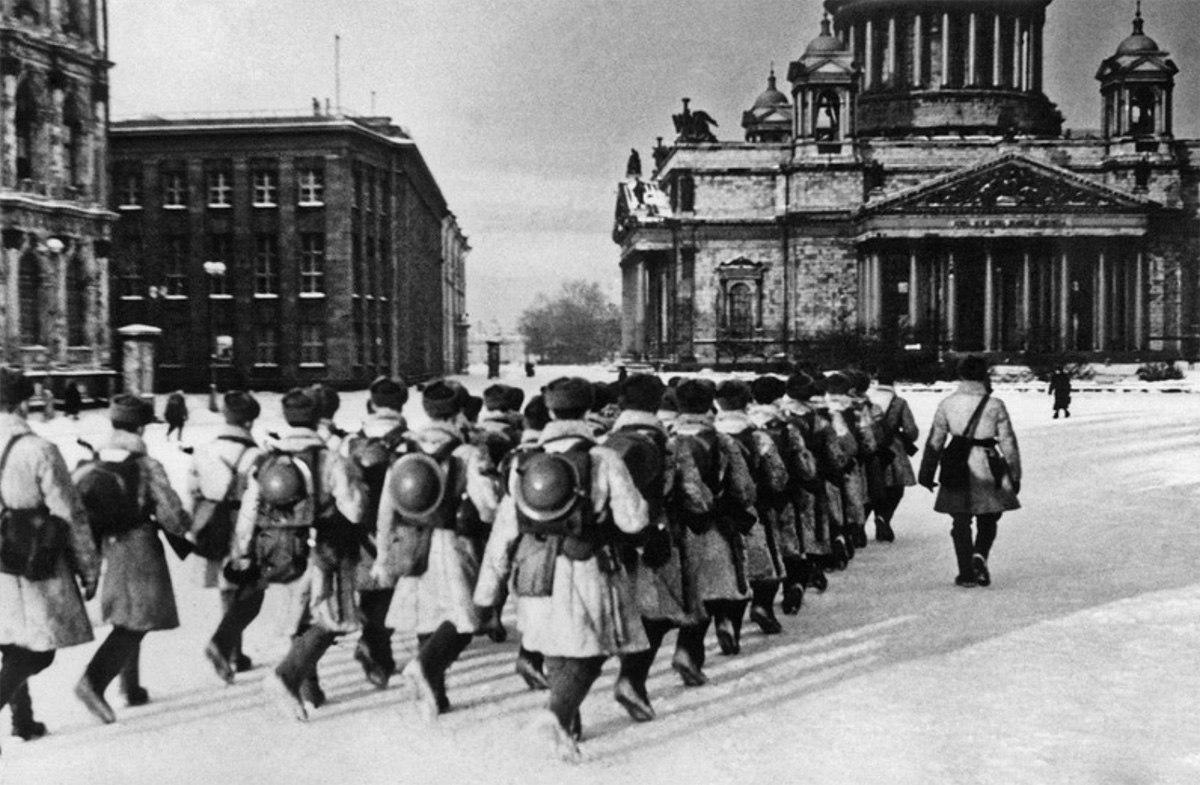 75-летию полного снятия блокады Ленинграда посвящается...