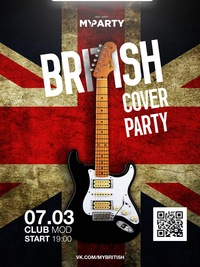 My British Cover Party * 20.02