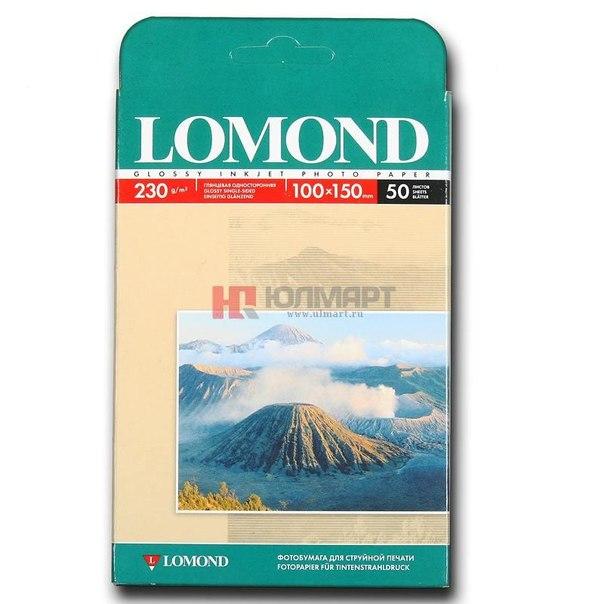Фотобумага 10*15 lomond 0102035, 230 г/м2