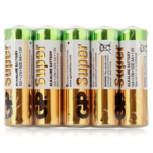 Батарейки aa (lr6) 10шт. gp щелочные 15aru-os10