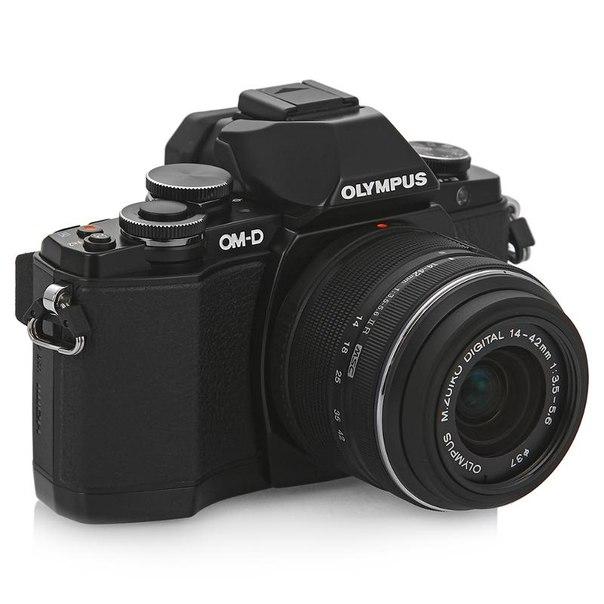 Цифровой фотоаппарат olympus om-d e-m10 kit 14-42mm black
