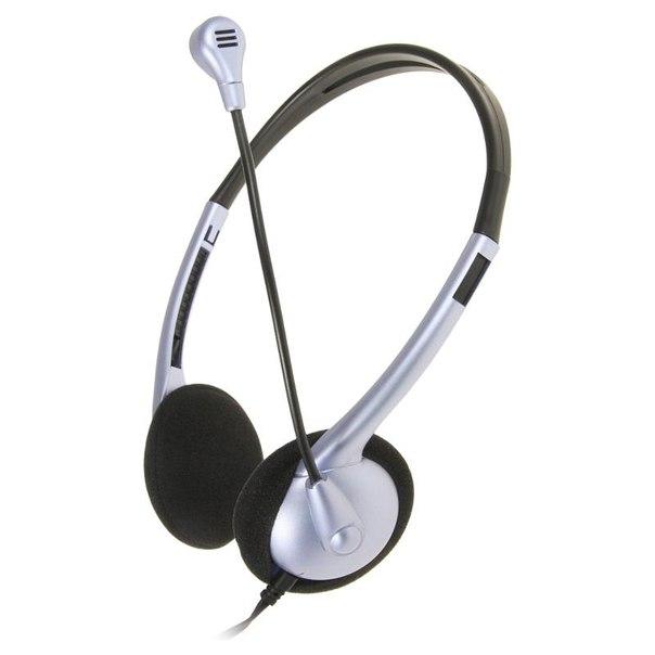 Наушники с микрофоном genius hs-02b
