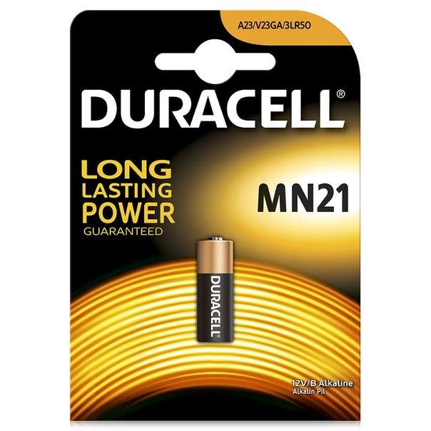 Батарейка a23 (mn21) 1шт. duracell щелочная