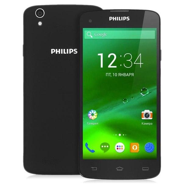 Смартфон philips i908 black