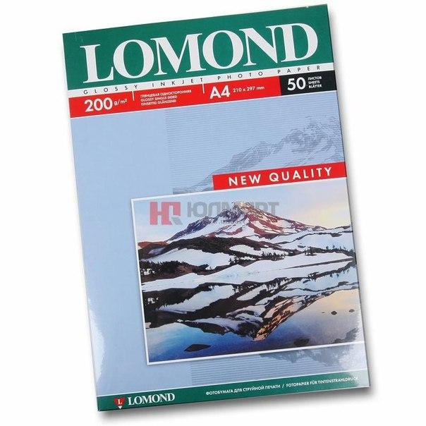 Фотобумага a4 lomond 0102020, 200 г/м2