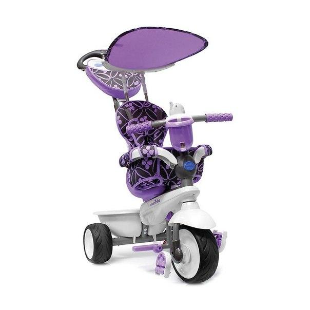 Велосипед трехколесный smart trike 1590700 dream touch steering лиловый