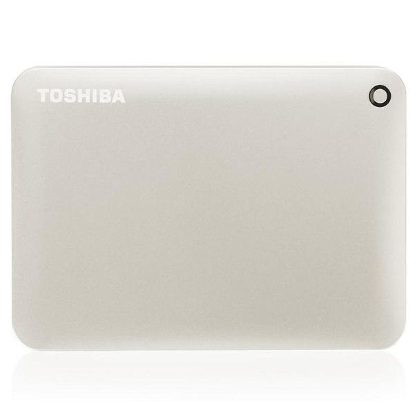 Toshiba canvio connect ii, hdtc805ec3aa, 500гб, золотой