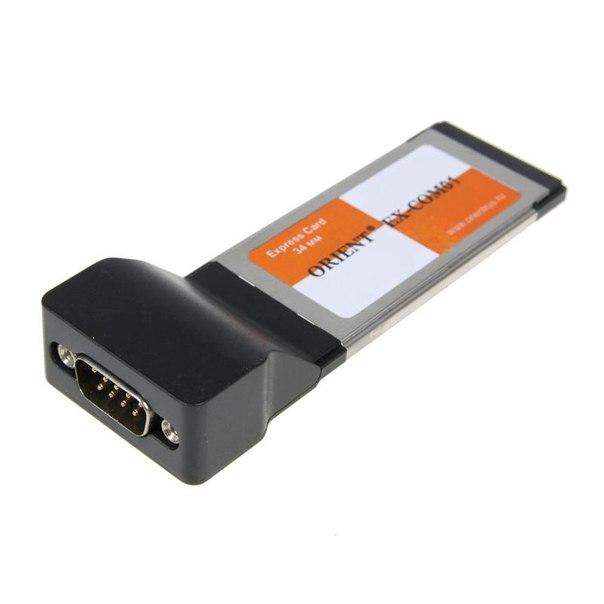 Expresscard/34mm com rs-232, 1 port, orient ex-com01