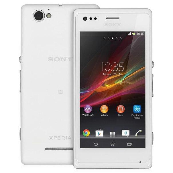 Смартфон sony c1905 xperia м white