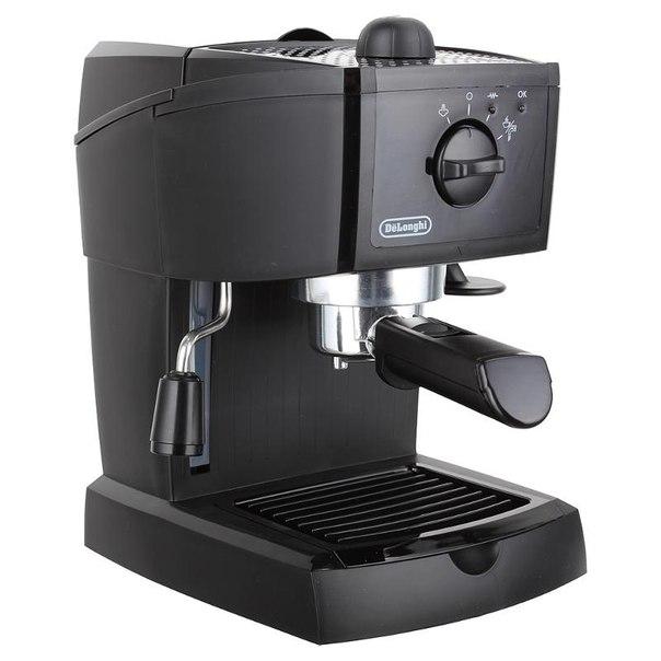 Кофеварка эспрессо delonghi ec 145, 15 бар, 1050 вт