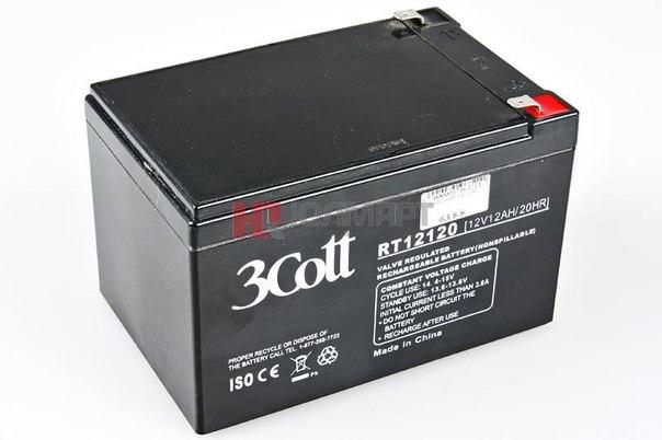Батарея аккумуляторная 3cott rt12120