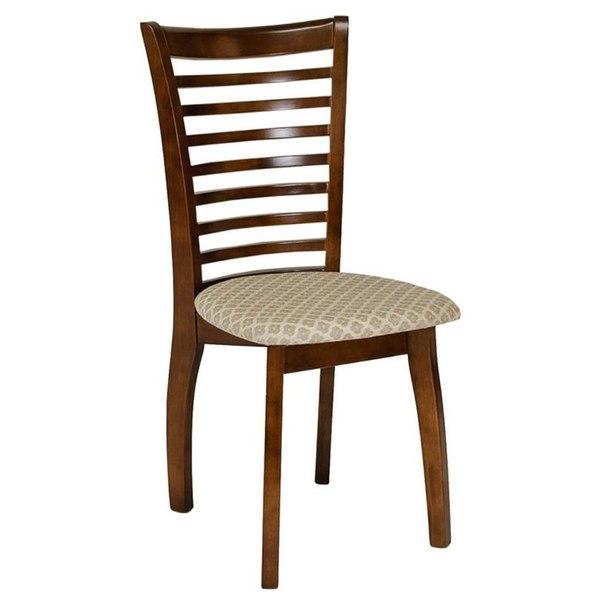 Комплект стульев мягких, 4 шт, 2531 k, цвет темный дуб, AFOX