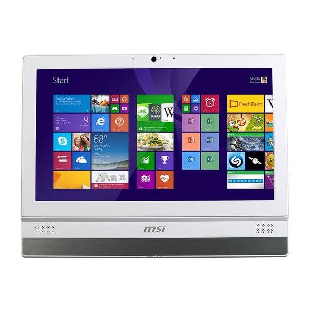 Компьютер моноблок msi adora20 2m-026ru, 9s6-aaa112-026