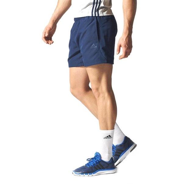 Шорты adidas ess chelsea s17594, мужские, темно-синие