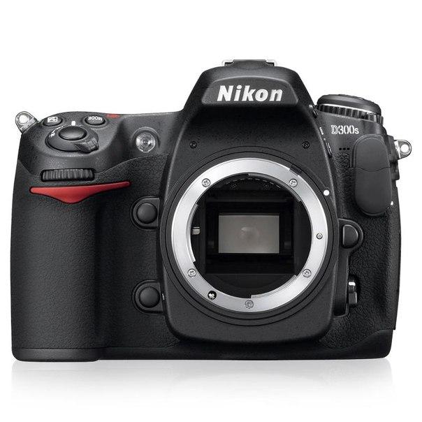 Зеркальный фотоаппарат nikon d300s body black
